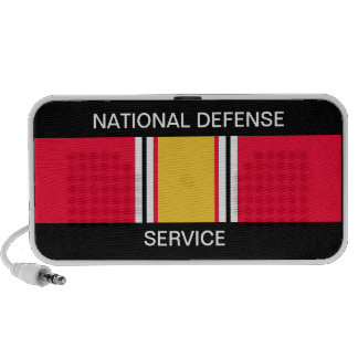 National Defense Service Ribbon iPhone Speakers
