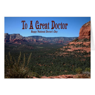 National Doctor's Day Card