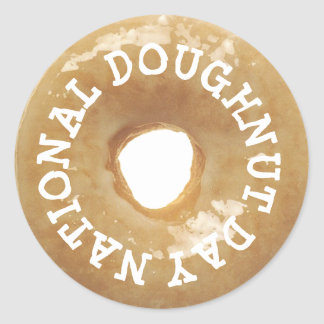 National Doughnut Day Stickers