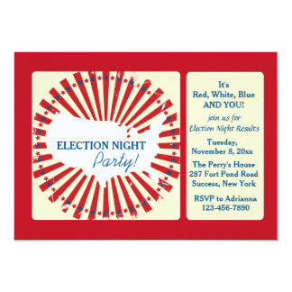 National Election Night Party Invitation