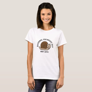 National Escargot Day May 24th Funny Food Holidays T-Shirt