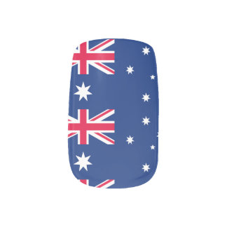 National Flag of Australia Minx Nail Art
