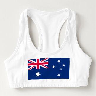 National Flag of Australia Sports Bra