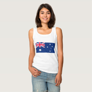 National Flag of Australia Tank Top