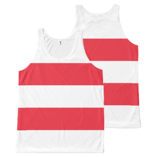 National Flag of Austria All-Over-Print Tank Top