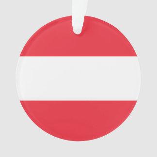 National Flag of Austria Ornament