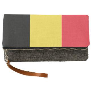 National Flag of Belgium Clutch