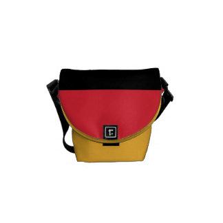 National Flag of Belgium Commuter Bags