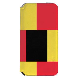 National Flag of Belgium Incipio Watson™ iPhone 6 Wallet Case