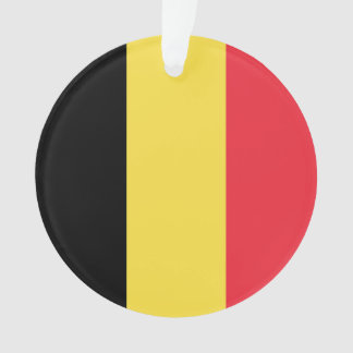 National Flag of Belgium Ornament