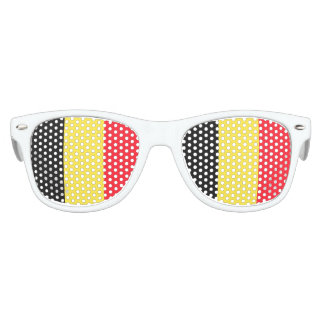 National Flag of Belgium Party Sunglasses