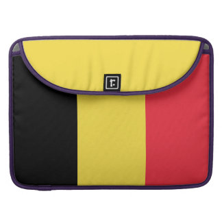 National Flag of Belgium Sleeve For MacBooks