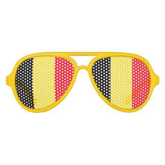 National Flag of Belgium Sunglasses