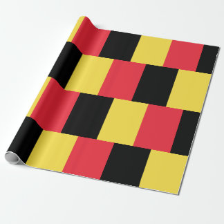 National Flag of Belgium Wrapping Paper