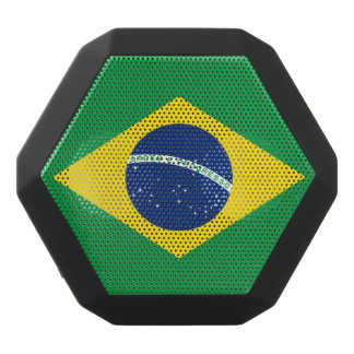 National Flag of Brazil, accurate proportion color Black Bluetooth Speaker