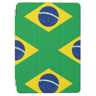 National Flag of Brazil, accurate proportion color iPad Air Cover
