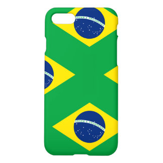 National Flag of Brazil, accurate proportion color iPhone 8/7 Case