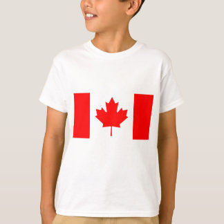 National Flag of Canada - Drapeau du Canada T-Shirt