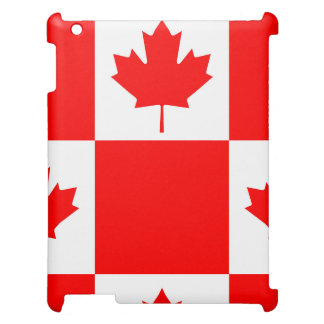 National Flag of Canada, maple leaf, high detailed Case For The iPad 2 3 4