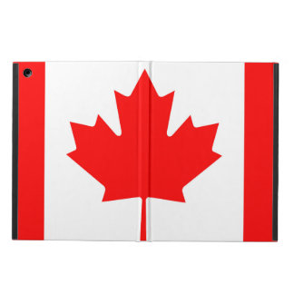 National Flag of Canada, maple leaf, high detailed Cover For iPad Air