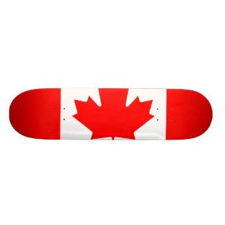National Flag of Canada, maple leaf, high detailed Custom Skateboard