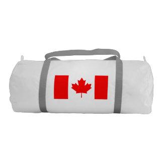 National Flag of Canada, maple leaf, high detailed Gym Bag