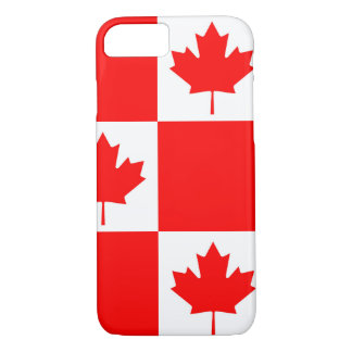 National Flag of Canada, maple leaf, high detailed iPhone 8/7 Case