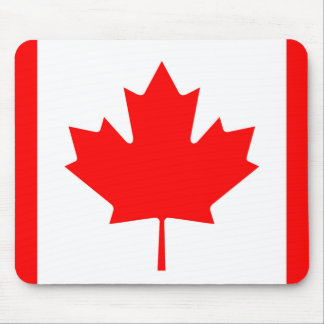 National Flag of Canada, maple leaf, high detailed Mouse Pad