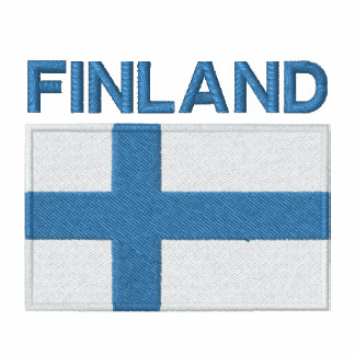 National Flag of Finland Hoody