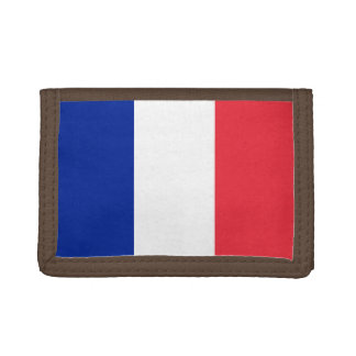 National Flag of France Tri-fold Wallet