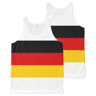 National Flag of Germany All-Over-Print Tank Top
