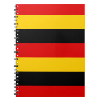 National Flag of Germany Notebook