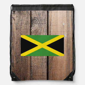 National Flag of Jamaica Cinch Bags