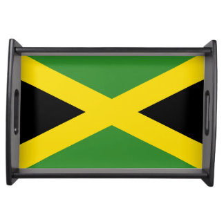 National flag of Jamaica Serving Tray
