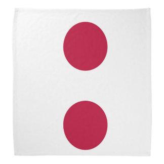 National Flag of Japan Bandana