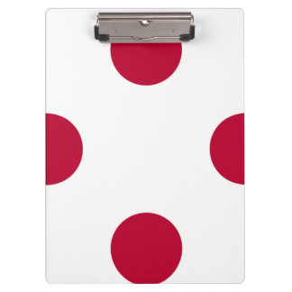 National Flag of Japan Clipboard