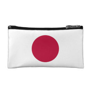 National Flag of Japan Cosmetic Bag