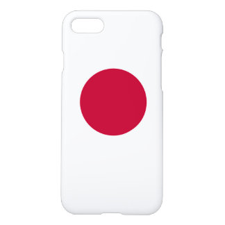 National Flag of Japan iPhone 8/7 Case
