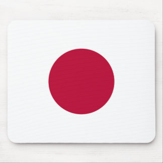 National Flag of Japan Mouse Pad