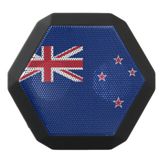 National Flag of New Zealand Black Bluetooth Speaker