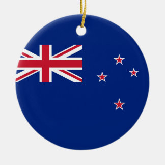 National Flag of New Zealand Ceramic Ornament