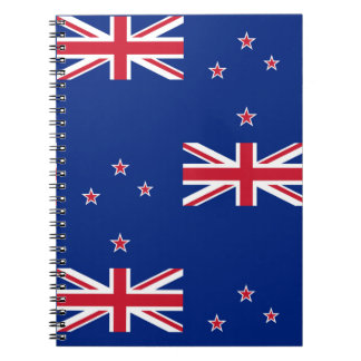 National Flag of New Zealand Notebook