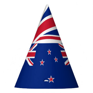 National Flag of New Zealand Party Hat