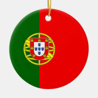 National Flag of Portugal Ceramic Ornament