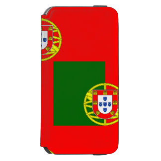 National Flag of Portugal Incipio Watson™ iPhone 6 Wallet Case