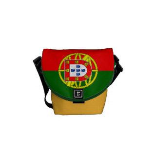 National Flag of Portugal Messenger Bags