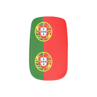 National Flag of Portugal Minx Nail Art