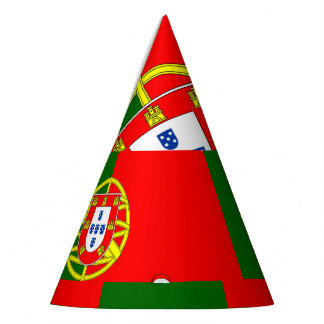 National Flag of Portugal Party Hat