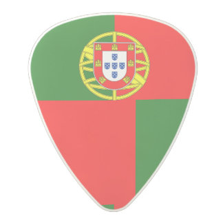 National Flag of Portugal Polycarbonate Guitar Pick