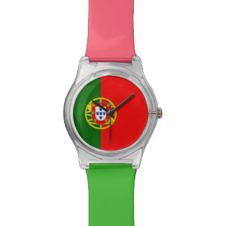National Flag of Portugal Watches